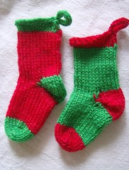 Holiday mini socks