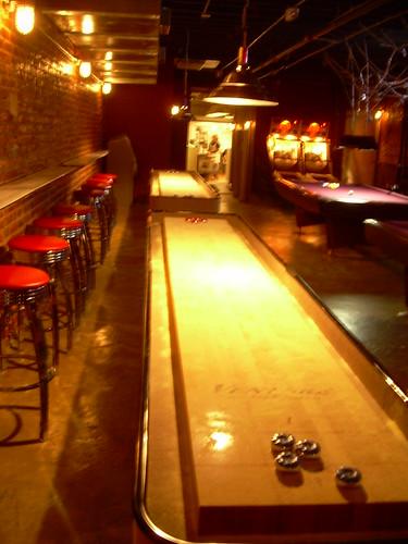 Shuffleboard and Pool