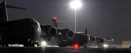 Boeing Is Even Using An LED Setup On The C 17 Anti Collision Lights Now And  Those Babies Are BRIGHT. Check It Out.