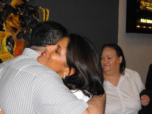 Ana Martin, la fuerza del abrazo