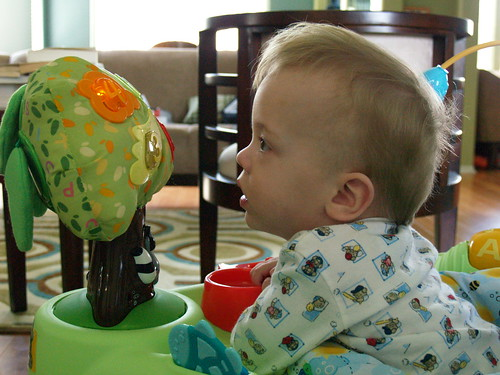Atti in the Exersaucer