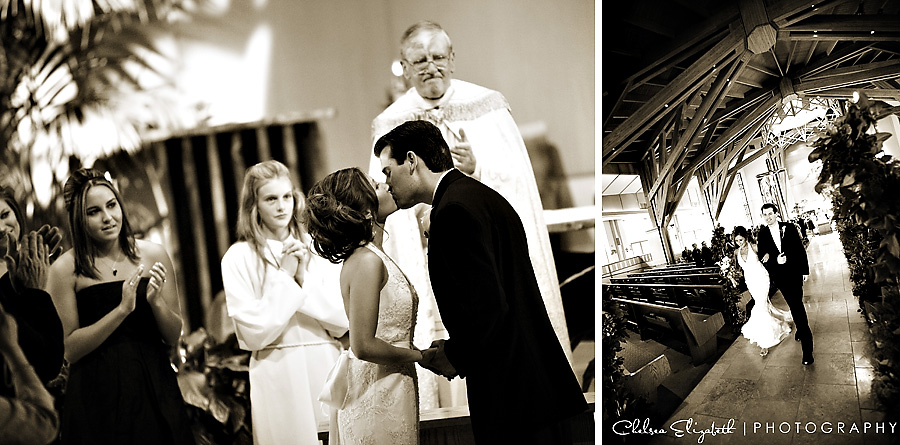 Sepia Agoura Wedding Ceremony Photography