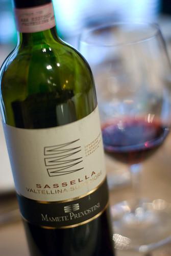 Mamete Prevostini 2005 Sassella Valtellina Superiore
