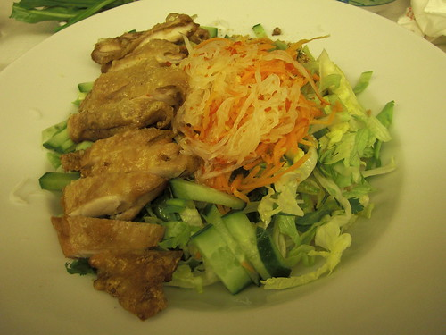Bun Ga Nuong @ Cafe East