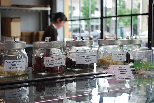 Cupcake shelf