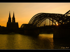 Kln, Germany (Yen Baet) Tags: sunset germany cathedral dom cologne kln 28 rhineriver deutchland longexposures nikond200 1755mmf