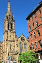 Church of the Covenant (kim.panian) Tags: boston massachusetts charlesriver ducktour beantown churchofthecovenant samueladamsbrewery