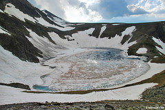 frozen Eye lake , Rila mountain, Bulgaria,     (.:: Maya ::.) Tags: mountain lake eye nature landscape frozen maya outdoor hiking lakes bulgaria rila seven experience bulgarie bulgarien          mayaeyecom mayakarkalicheva  wwwmayaeyecom