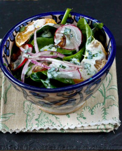 buttermilk salad top