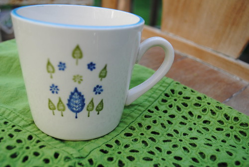 thrift store mug