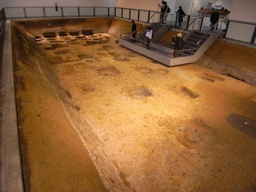 平城遷都1300年祭『遺構展示館』