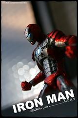 """Iron Man"" Mark V_3 (EdwardLee's collection) Tags: 2 man movie toy toys actionfigure iron comic action mark ironman collection suit v figure marvel hasbro edwardlees"