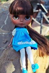 Tyra: I dont like minigolf! i only want to playwith my friends! / No me gusta el minigolf yo queiro jugar con mis amigas!