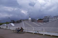 Every Day is Like Sunday (Bart van Damme) Tags: cars clouds boulevard belgium parking antwerp shelter citycenter bartvandammephotography bartvandammefotografie emailbagtvandammegmailcom