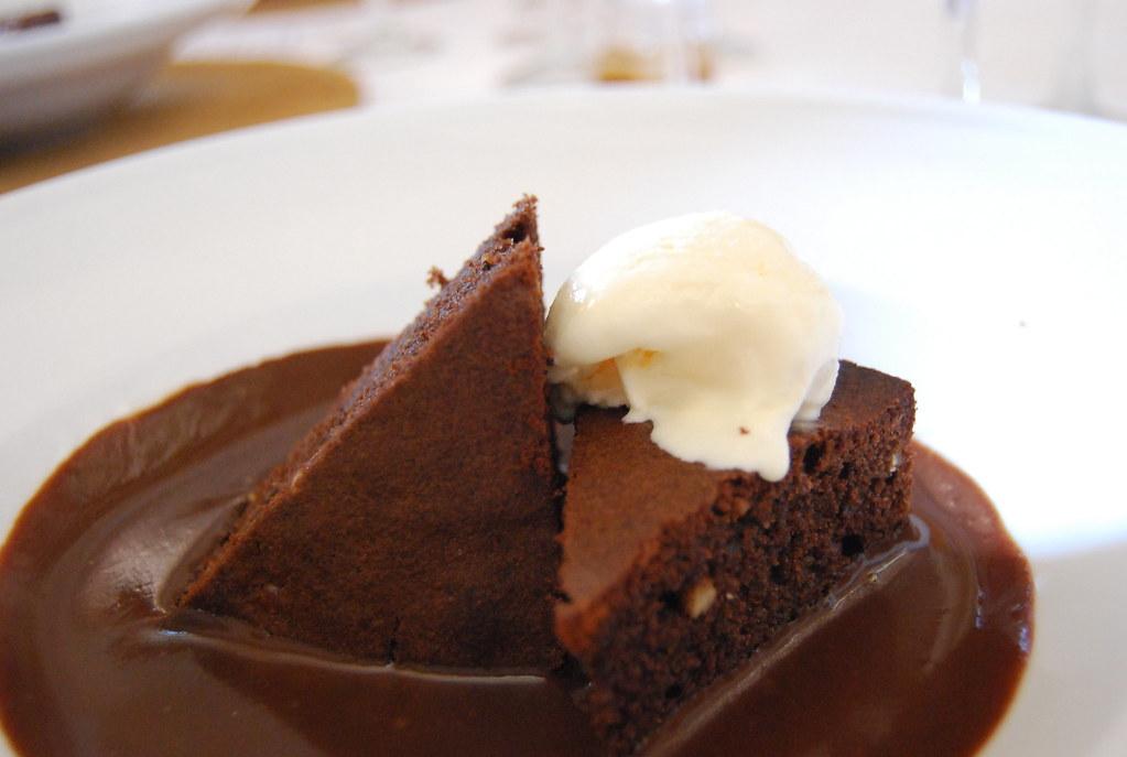 Brownie de chocolate de Finca Lo de Die