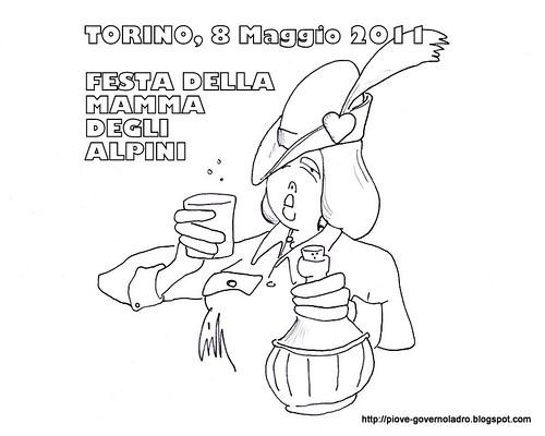 8 Maggio a Torino, Festa della Mamma degli Alpini by Livio Bonino