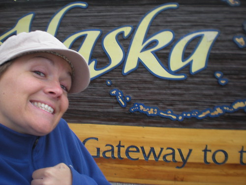 I made it! At Alaska border 8/8/1: State #50