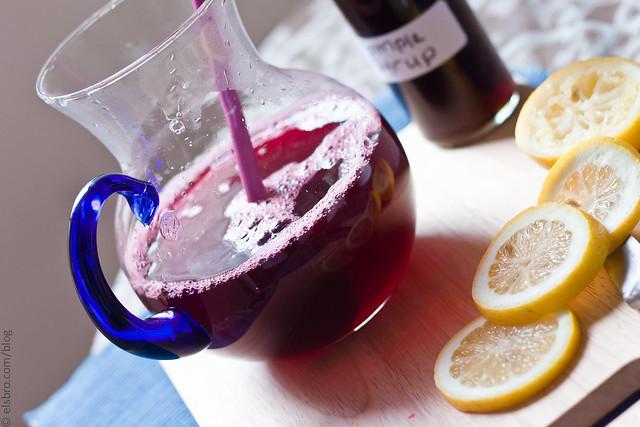 Mixing Lemonade