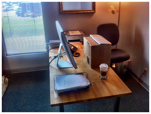 Testing The Standing Desk Concept