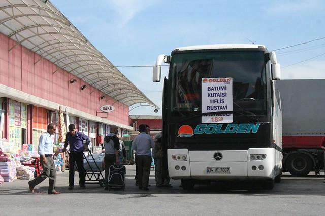 Autocarro da empresa Golden Turizm em Istambul