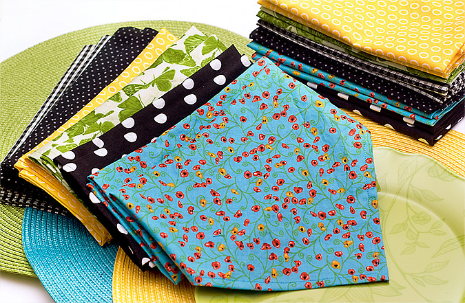 cloth napkins for blog