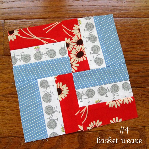 farmer's wife sampler, block 4