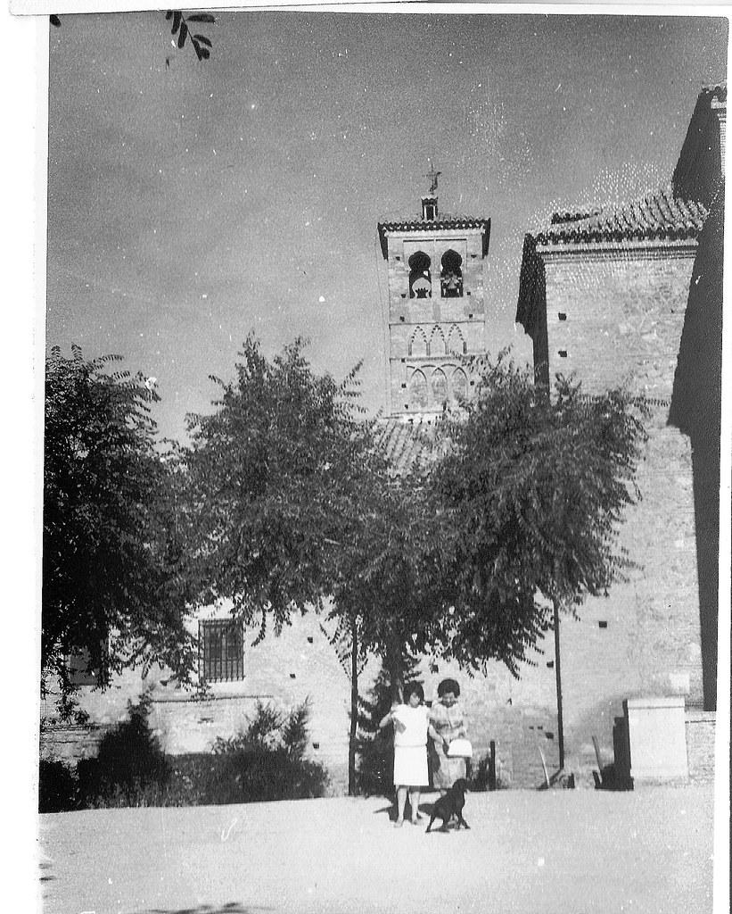 Iglesia de San Miguel en julio de 1962. Fotografía de Eduardo Butragueño Bueno