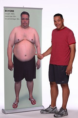 Pete Thomas of NBC's The Biggest Loser Before and After