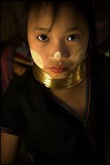 young girl (fly) Tags: girl children thailand kid asia karen longneck chiangmai tribe ethnic maehongsong karenpadaung earthasia fly simonkolton