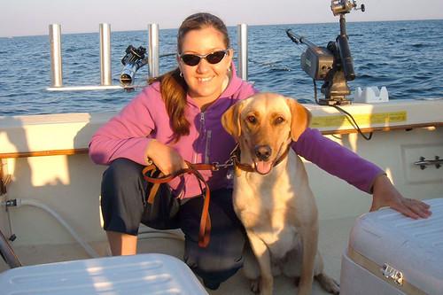 Karen and Daphne charter fishing