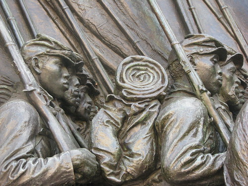 Memorial to Robert Shaw and the 54th Massachusetts Regiment