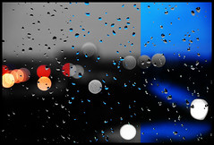 The Big Picture (Rajesh Vijayarajan Photography) Tags: abstract drops shortsighted citylights raindrops waterdroplets windowpane afterdark wetwindow splashesofcolor bokehdots narrowmindedness pennywisepoundfoolish shallowthinking rajeshvijayarajan rajeshvijayarajanphotography rajeshvj rajeshonflickr