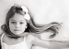 Dream... (Shana Rae {Florabella Collection}) Tags: portrait white girl beautiful child dress little naturallight niece bow 1755mm florabella nikond300 shanarae