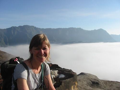 Op meer dan 2350 meter, boven de nevels