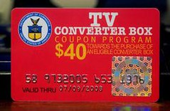 Converter box coupon