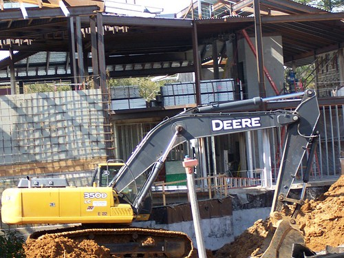 Student Union construction
