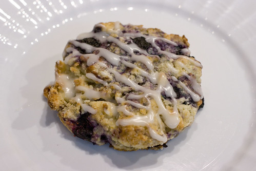 Glazed Blueberry Scone 2