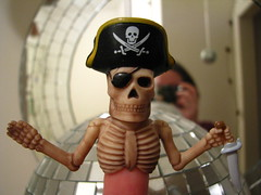 Pirate Finger Puppet (from Logan)