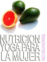 Nutricion Mujer y Yoga