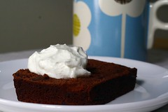 cocoa-nana bread for breakfast