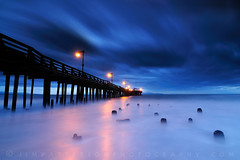 Blue Hour, Capitola Pier Sunrise - Capitola, California (Jim Patterson Photography) Tags: ocean california ca old longexposure morning blue winter sea santacruz seascape storm beach rain clouds sunrise landscape dawn coast pier waves pacific shoreline bluesky coastal shore wharf coastline bluehour capitola daybreak capitolawharf santacruzcounty landscapephotography cotcmostfavorited oceanscape capitolapier nikond300 tokina1116mm beneathblueseas beneathblueseascom jimpattersonphotography goldendiamondblog jimpattersonphotographycom seatosummitworkshops seatosummitworkshopscom