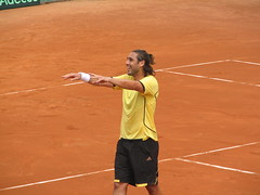 Baghdatis at 06 Davis Cup. Image added retroactively.