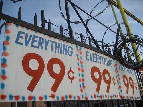 Everything 99 cents