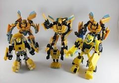 Transformers Bumblebees modo robot