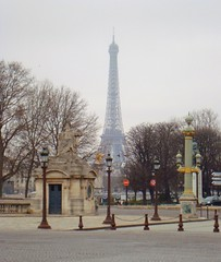 Eiffel Tower (DolceDanielle) Tags: vacation paris france tower de la place eiffel concorde gustave