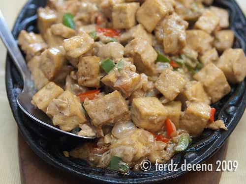 Sizzling Tofu (Php 179.30)