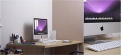 The Mac Station (Jordan Green) Tags: green ikea apple photography design mac imac geek graphic desk bamboo clean jordan workstation tablet wacom iphone