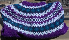Beaded Fair Isle