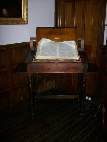Sabine Baring-Gould's desk