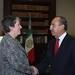 Reunión con la Secretaria de Seguridad Interior de Estados Unidos, Janet Napolitano, y al Procurador General de ese país, Eric Holder (03-04-09)
